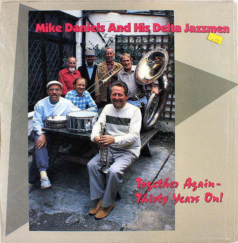 "Mike Daniels And His Delta Jazzmen Vinyl 12"" (New)"