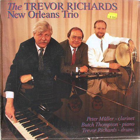 """Trevor Richards New Orleans Trio Vinyl 12"""" (New)"""