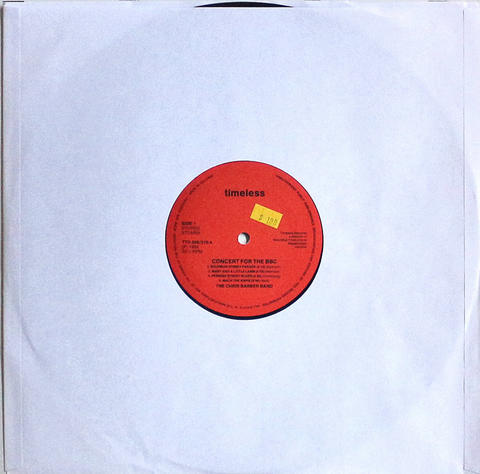 """The Chris Barber Band Vinyl 12"""" (Used)"""