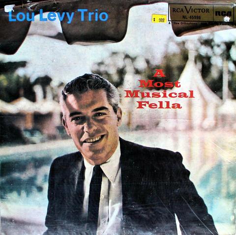 """Lou Levy Trio Vinyl 12"""" (Used)"""