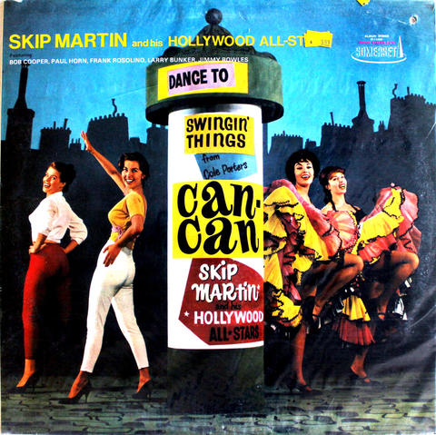 "Skip Martin And His Hollywood All-Stars Vinyl 12"" (New)"