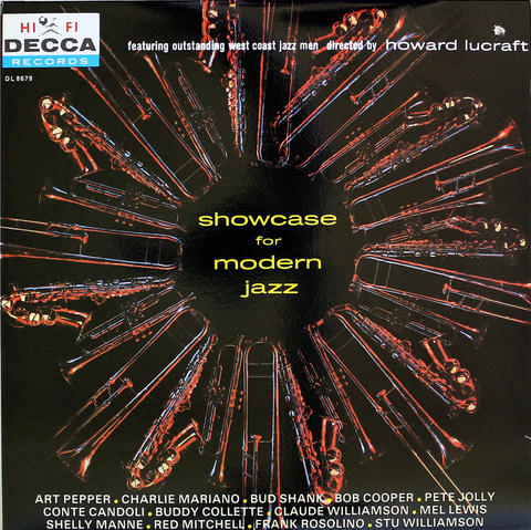 "Showcase For Modern Jazz Vinyl 12"" (Used)"