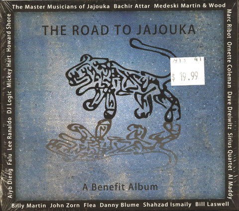 The Road To Jajouka CD