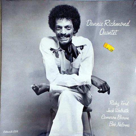 """Dannie Richmond Quintet Vinyl 12"""" (New)"""