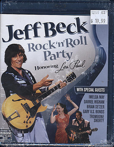 Jeff Beck Blu-Ray