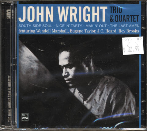 John Wright Trio & Quartet CD