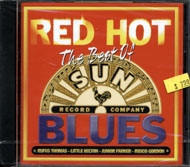The Best of Sun Record Company Red Hot Blues CD