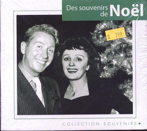 Des Souvenirs de Noel CD