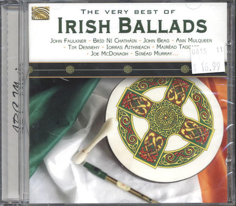 The very Best of Irish Ballads CD