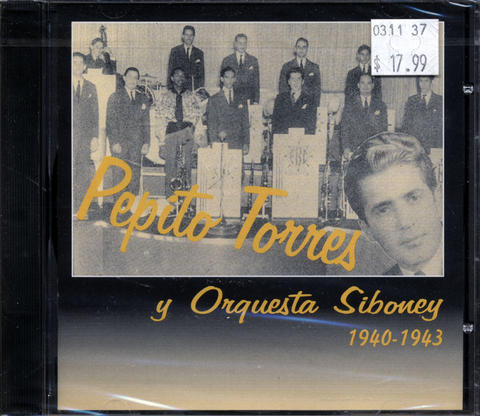 Pepito Torres y Orquesta Siboney CD