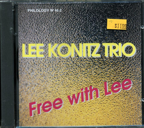 Lee Konitz Trio CD