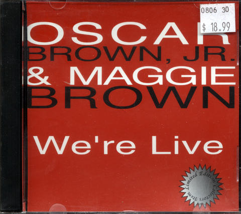 Oscar Brown, Jr. CD