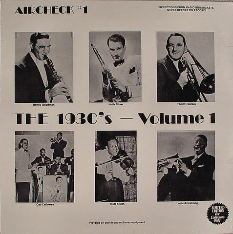 """Benny Goodman Vinyl 12"""" (New)"""