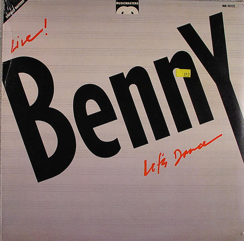 """Benny Goodman and His Orchestra Vinyl 12"""" (New)"""