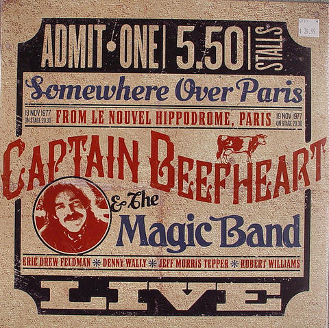 "Captain Beefheart Vinyl 12"" (New)"