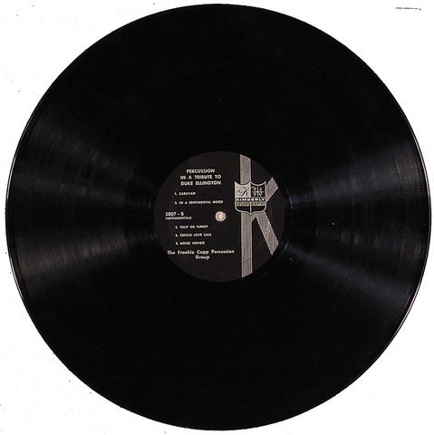 """Frankie Capp Percussion Group Vinyl 12"""" (Used)"""