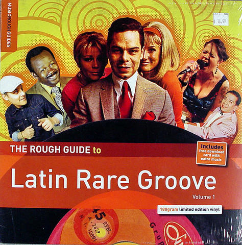 """The Rough Guide to Latin Rare Groove Vinyl 12"""" (New)"""
