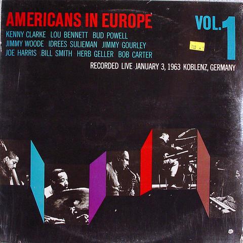 """Americans in Europe Vol. 1 Vinyl 12"""" (New)"""