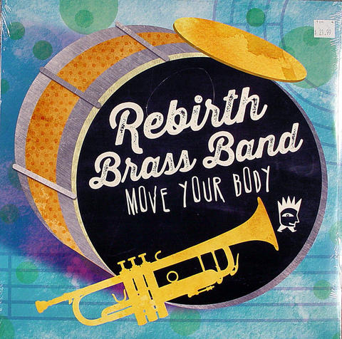 "Rebirth Brass Band Vinyl 12"" (New)"