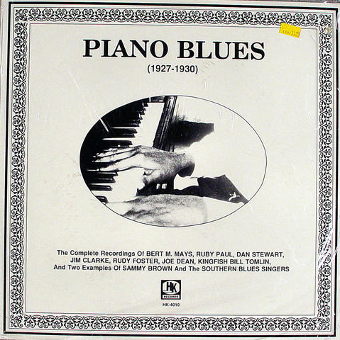 "Piano Blues (1927-1930) Vinyl 12"" (New)"