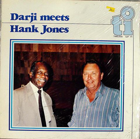 """Darji Meets Hank Jones Vinyl 12"""" (New)"""