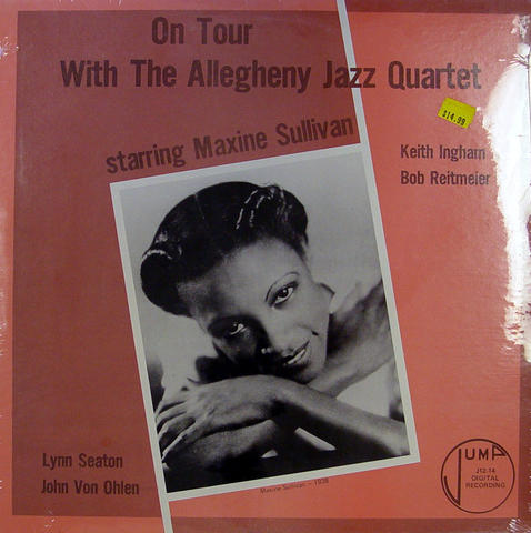 """Allegheny Jazz Quartet Vinyl 12"""" (New)"""
