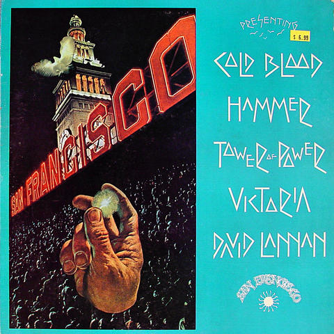 "Cold Blood Vinyl 12"" (Used)"