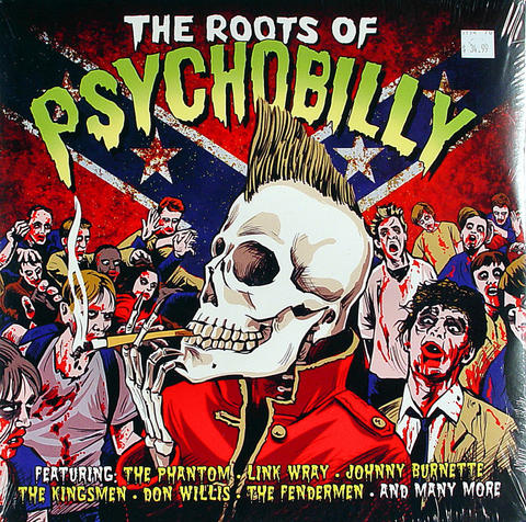 "The Roots Of Psychobilly Vinyl 12"" (New)"