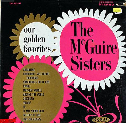 "McGuire Sisters Vinyl 12"" (Used)"