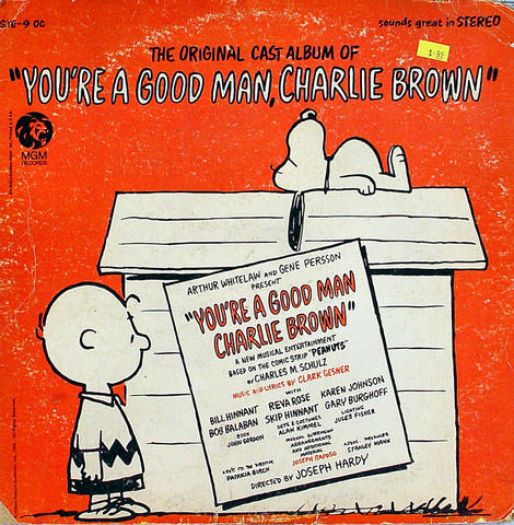 "You're A Good Man, Charlie Brown Vinyl 12"" (Used)"