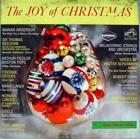 "The Joy of Christmas Vinyl 12"" (Used)"