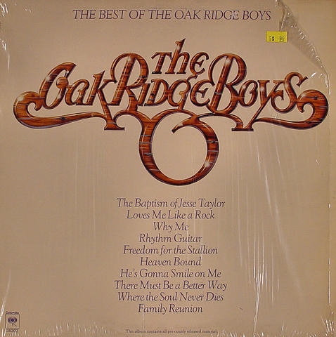 "The Oak Ridge Boys Vinyl 12"" (Used)"