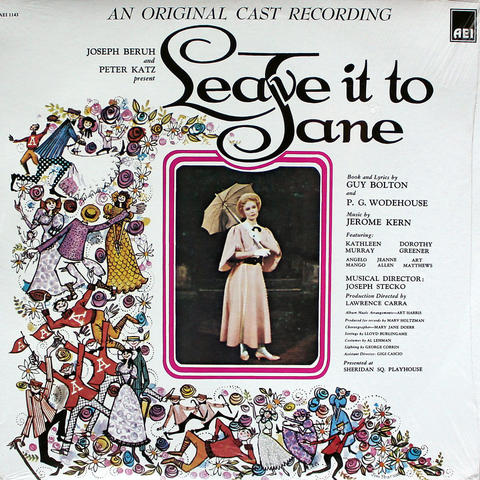 "Leave It To Jane An Original Cast Recording Vinyl 12"" (New)"