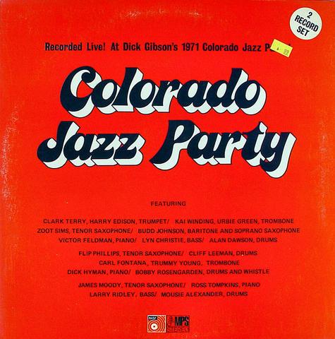 """Colorado Jazz Party Vinyl 12"""" (Used)"""