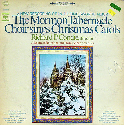 "The Morman Tabernacle Choir Vinyl 12"" (Used)"