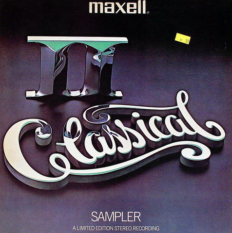 "Maxell Classical II Vinyl 12"" (Used)"