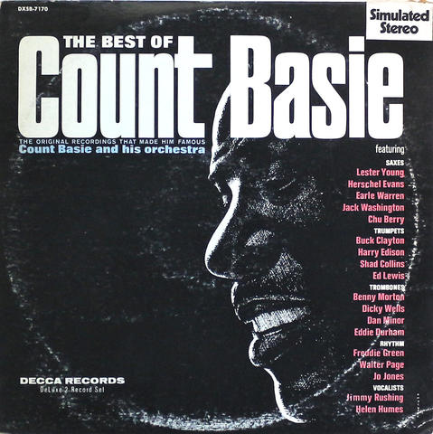 "Count Basie and His Orchestra Vinyl 12"" (Used)"