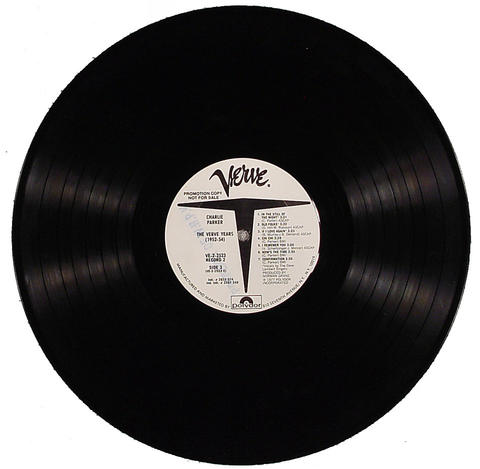 "Charlie Parker Vinyl 12"" (Used)"