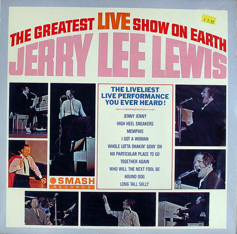 "Jerry Lee Lewis Vinyl 12"" (Used)"
