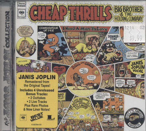 Big Brother and the Holding Company CD