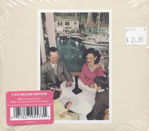 Led Zeppelin CD