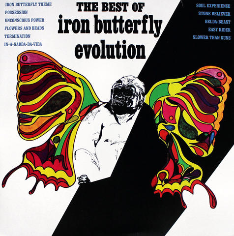 "Iron Butterfly Vinyl 12"" (Used)"