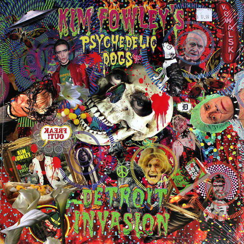 "Kim Fowley's Psychedelic Dogs Vinyl 12"" (New)"