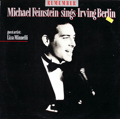"Michael Fienstein Sings Irving Berlin Vinyl 12"" (Used)"