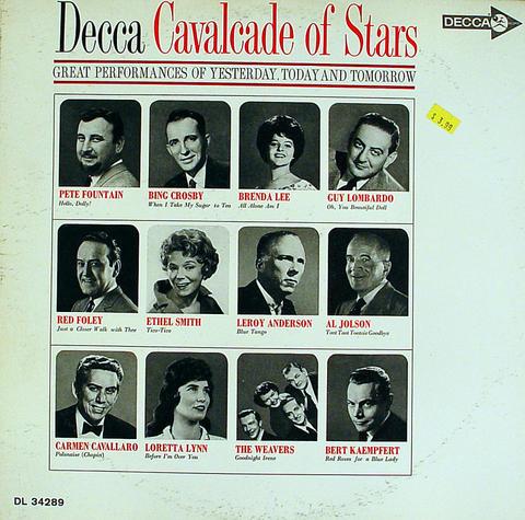 """Cavalcade Of Stars Vinyl 12"""" (Used)"""