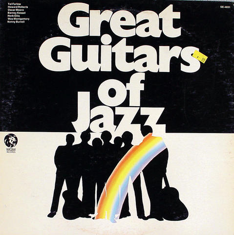 "Great Guitars Of Jazz Vinyl 12"" (Used)"