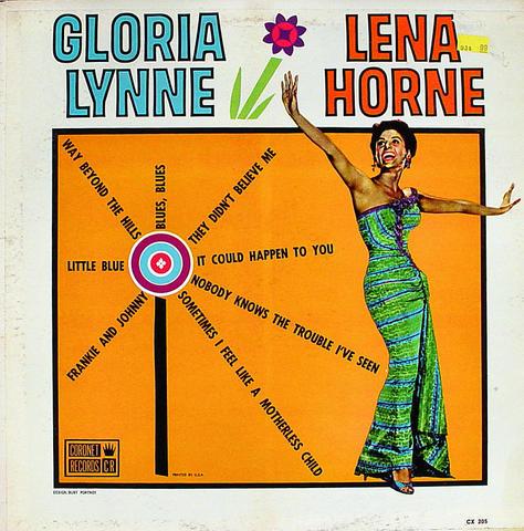"""Gloria Lynne & Lena Horne Vinyl 12"""" (Used)"""