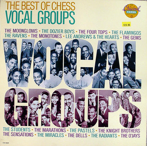 """The Best Of Chess Vocal Groups Vinyl 12"""" (Used)"""