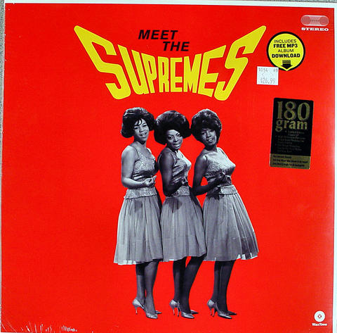"The Supremes Vinyl 12"" (New)"