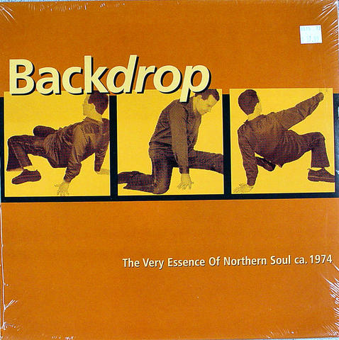 "Backdrop The Very Essence Of Northern Soul Ca. 1974 Vinyl 12"" (New)"